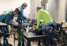 Jean-Lin Spriet et son vélo Pechtregon