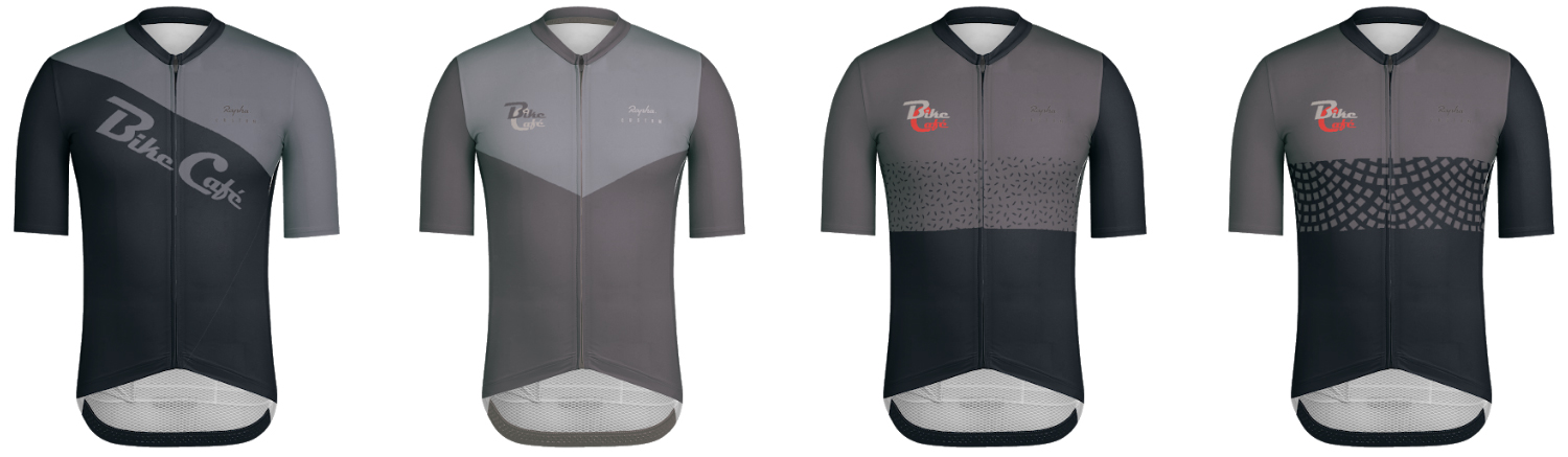 Rapha Custom Pro team bike café jersey cycling apparel