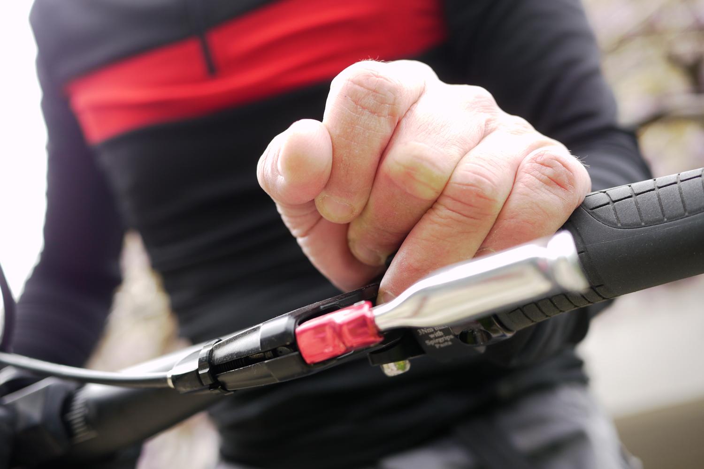 flat bar ergonomy SQlab 710 grips Spirgrips MTB