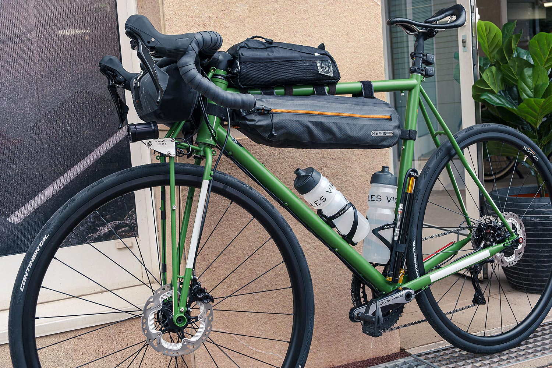 Test Infinity Bike Seat