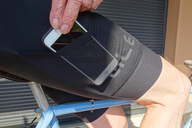 ALÉ Cycling le cuissard cargo avec poche pour le gravel