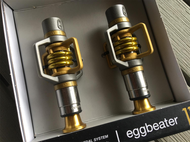 Test pédales Crankbrothers Eggbeater