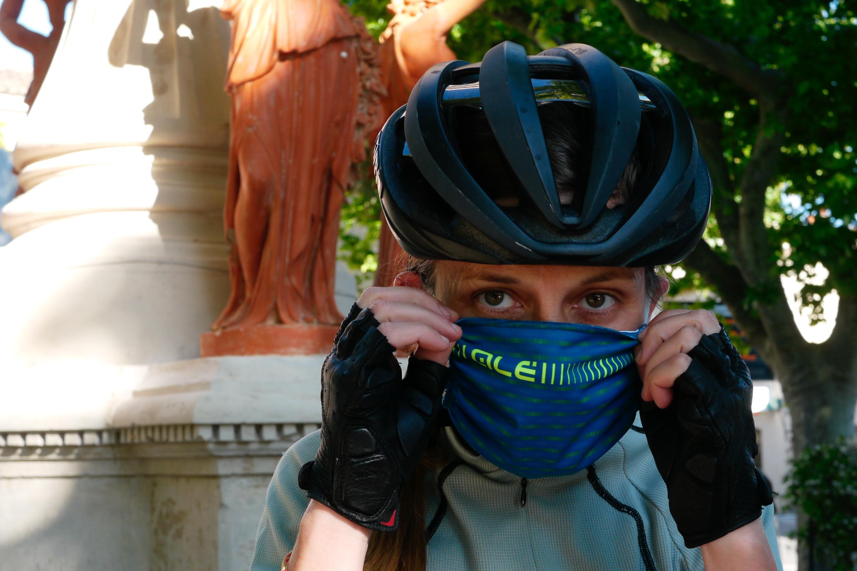 Les masques anti-covid de Alé Cycling