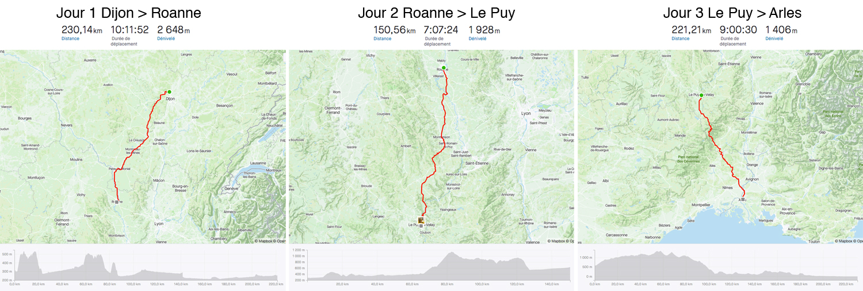 Strava road trip bickepaking fixed gear Dan de Rosilles 600 km Massif Central
