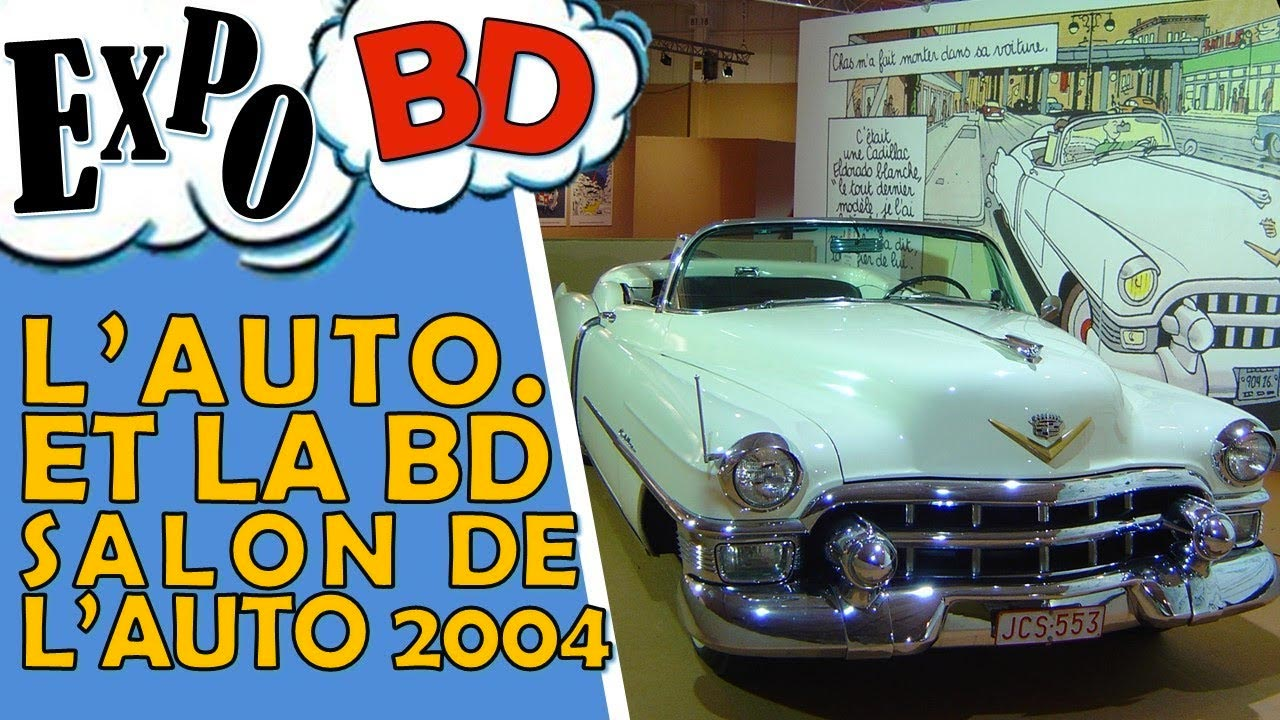 La BD au Salon de l'Automobile en 2004