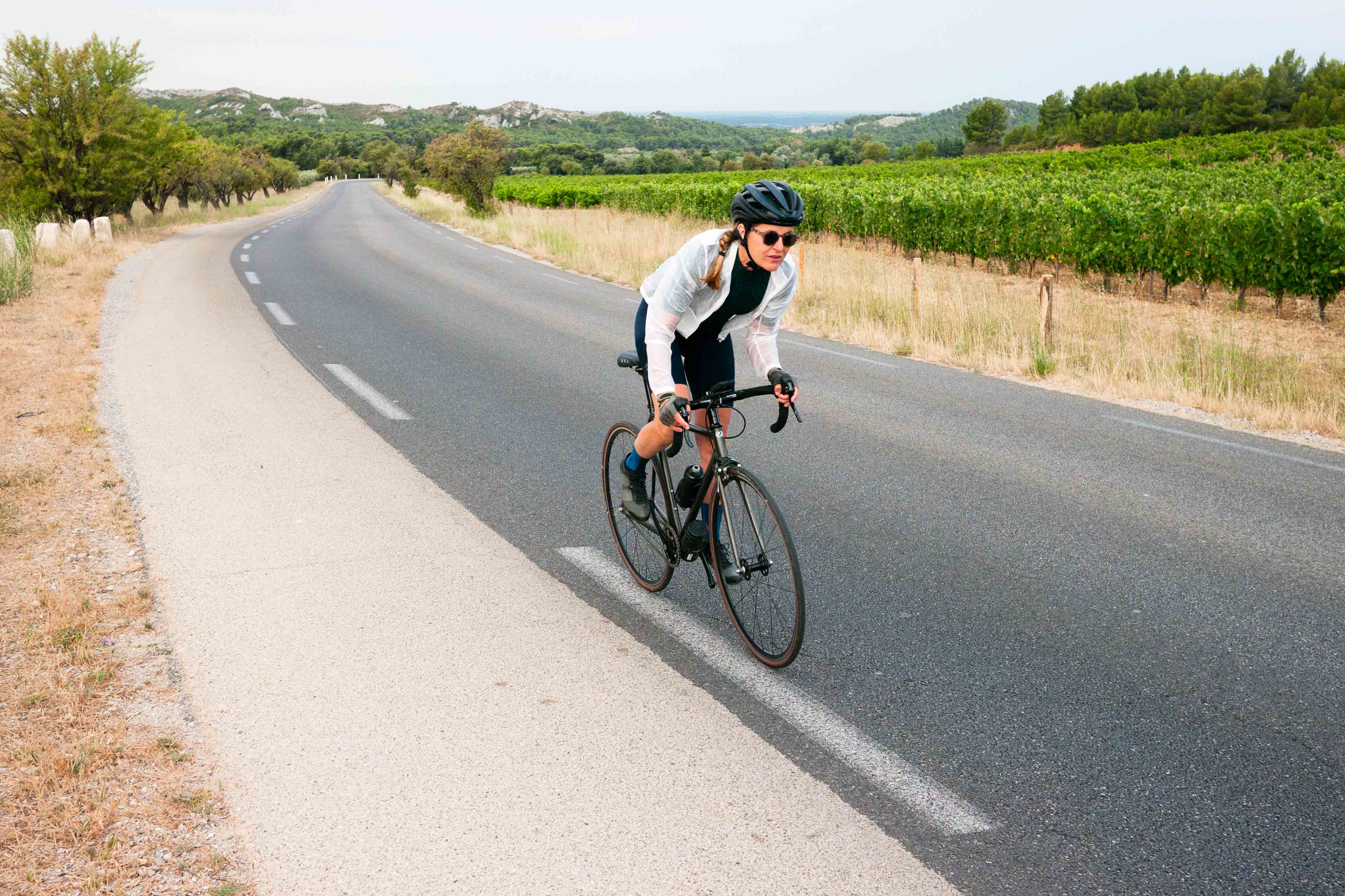 Rapha + Outdoor Voices women cycling apparel