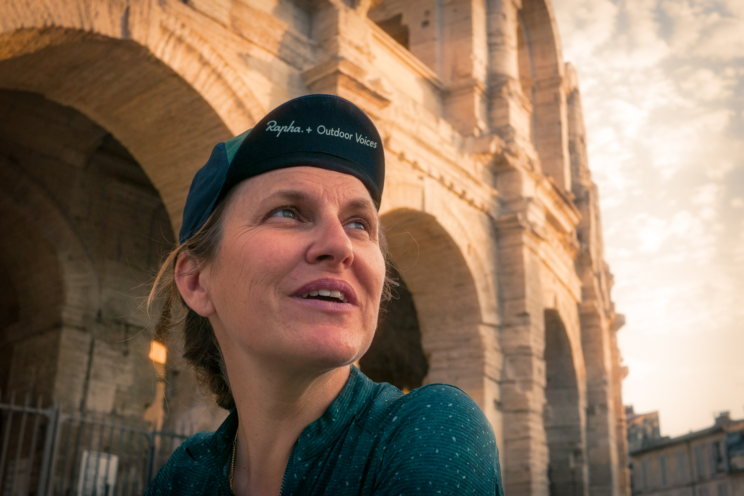 Rapha + outdoor Voices women cycling apparel Arles