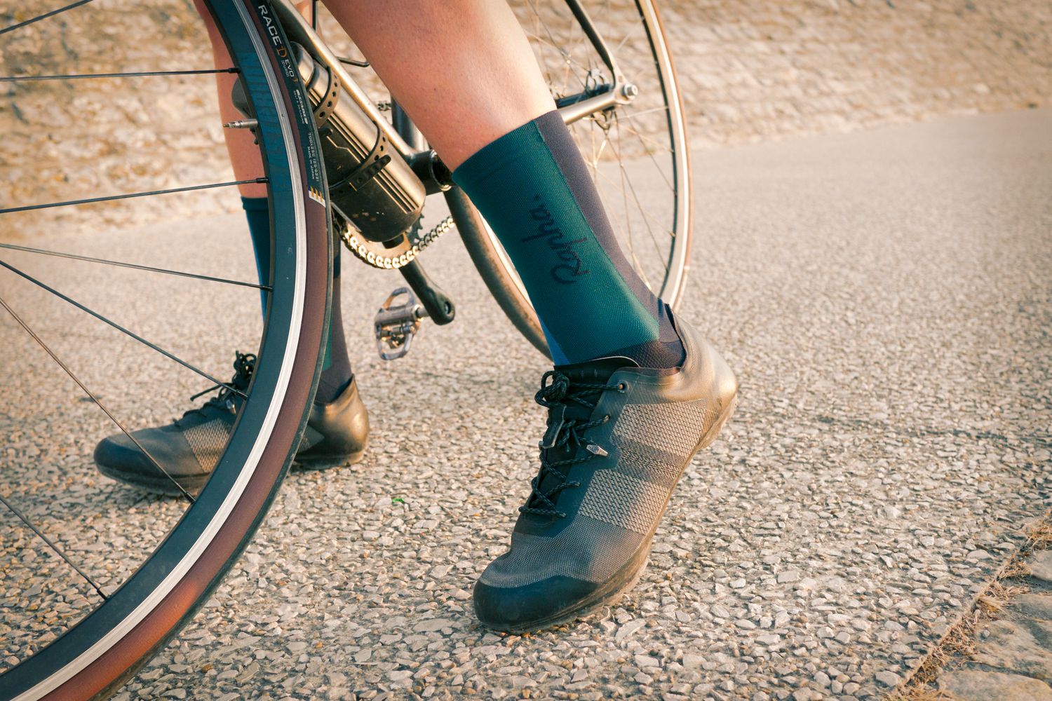 Rapha + Outdoor Voices women cycling apparel socks