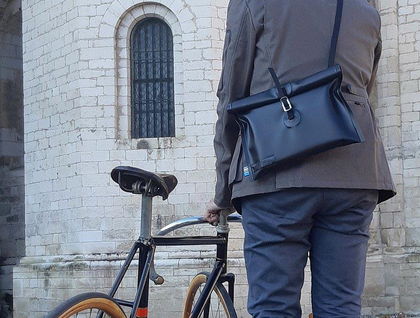 La musette et le vélo