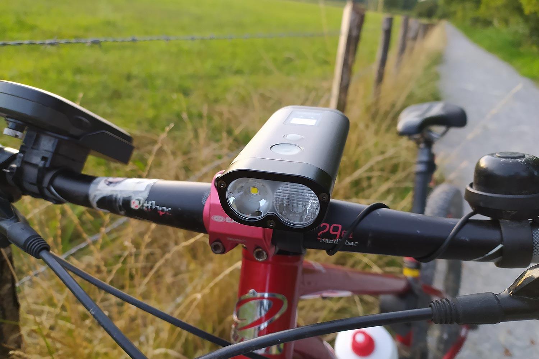Test des lampes vélo Ravemen