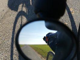 Test de rétroviseurs pour Vélo