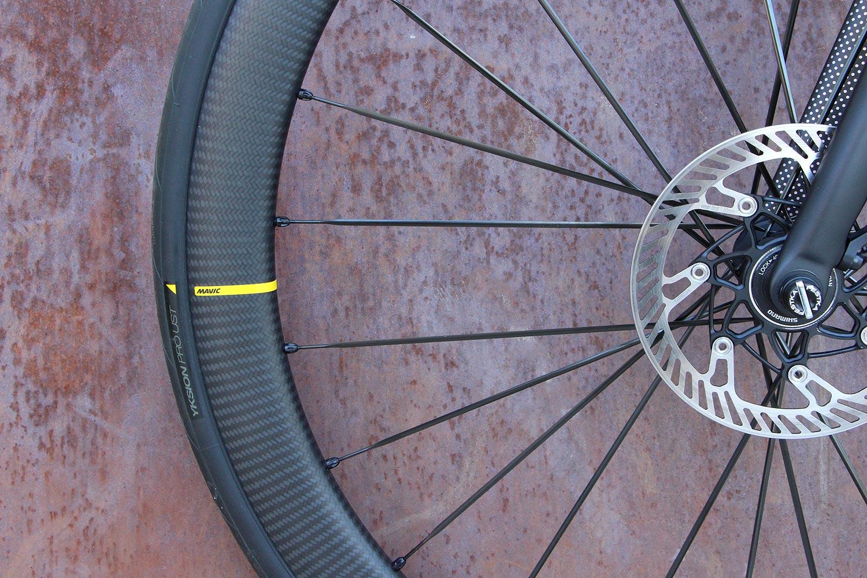 Nouvelles roues Mavic SLR45 Disc