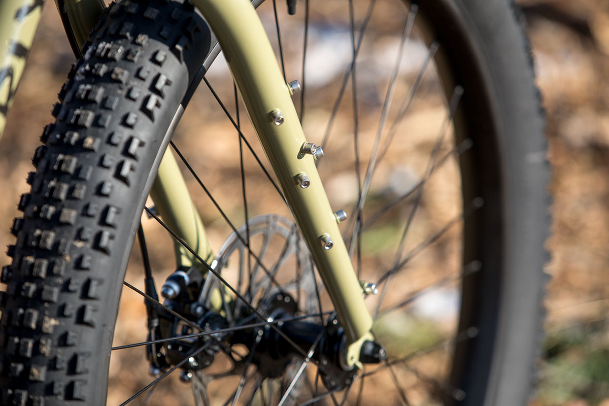 Surly ECR fork brazzons adventure bike