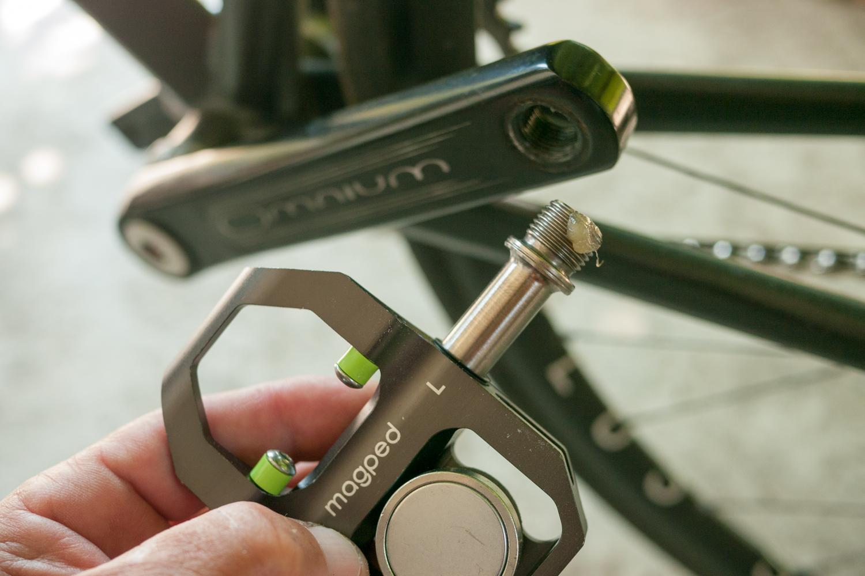 Magped magnetic pedals cycling fixed gear Desgena Sram Omnium