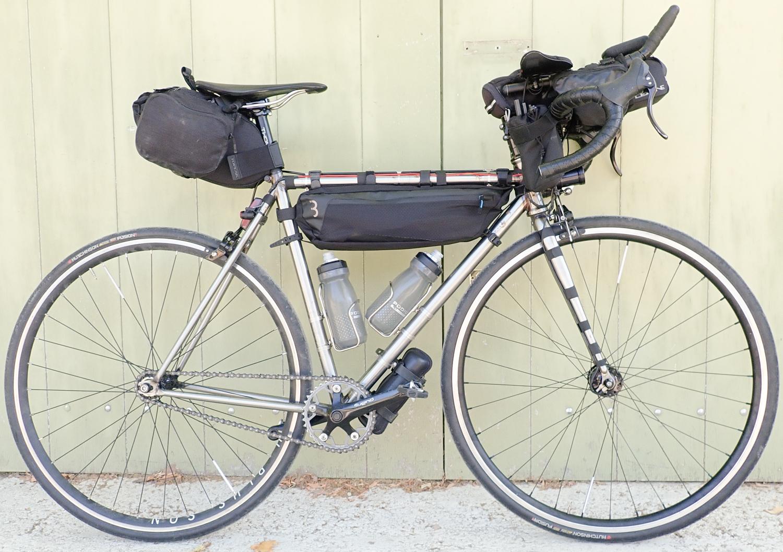 fixed gear ultra cycling long distance bikepacking