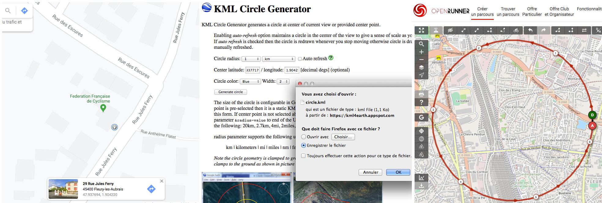 """Une méthode simple pour tracer le """"cercle du bonheur"""" - captures d'écran web"""