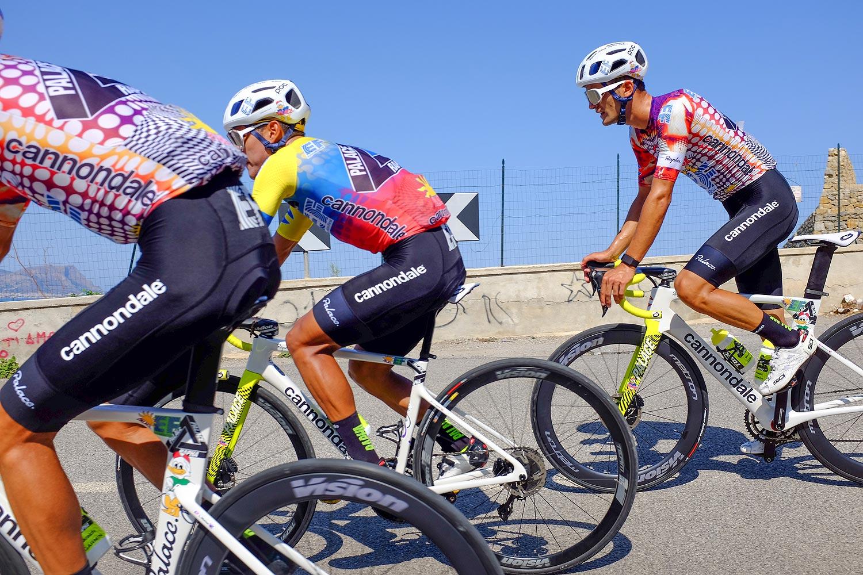 Rapha et Palace skateboard habille l'équipe EF Pro Cycling