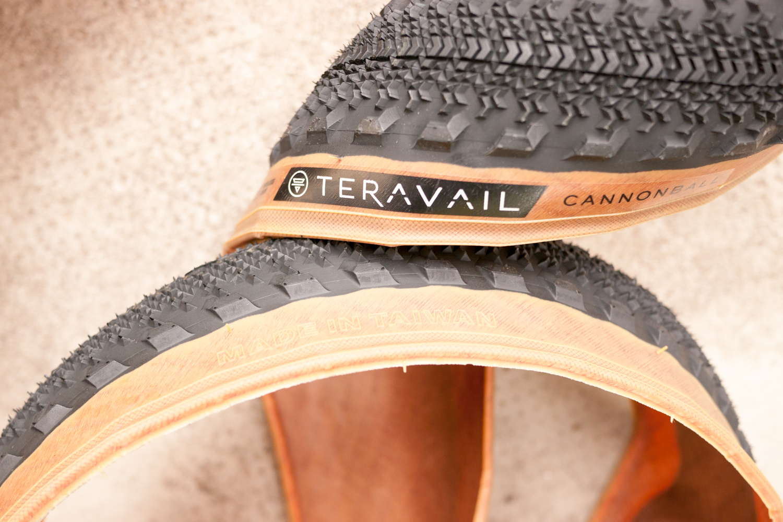 Teravail Cannonball gravel tyre tire made in Taïwan