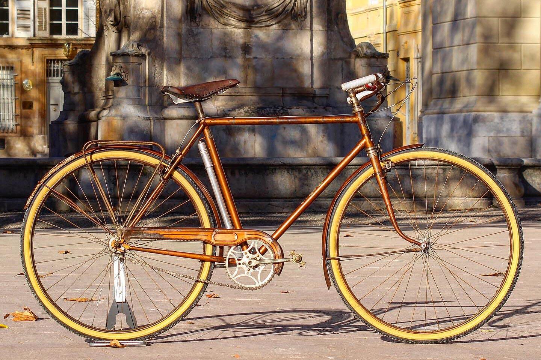 Restauration de vélos anciens