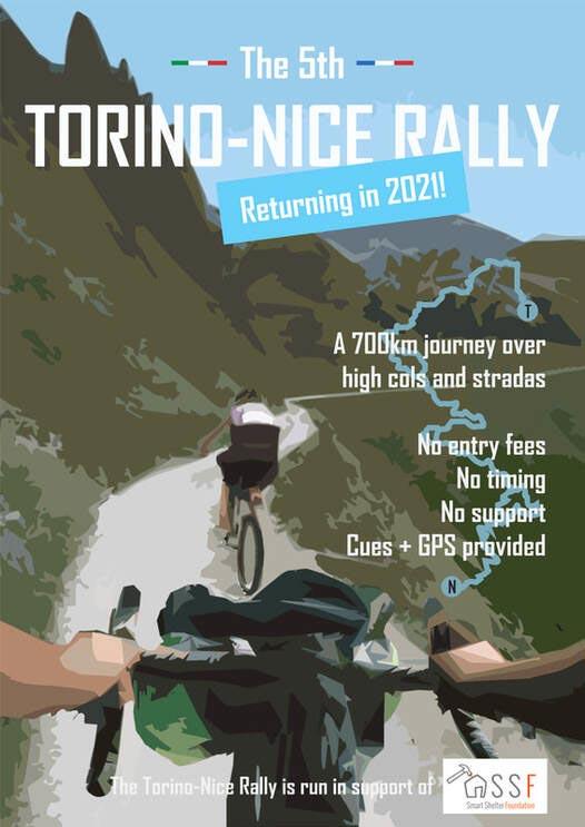 Torino - Nice bikepacking