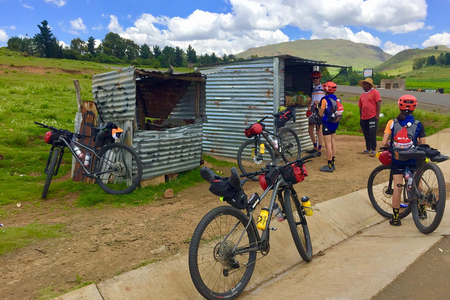 The Great Lesotho Traverse - bikepacking en Afrique du Sud