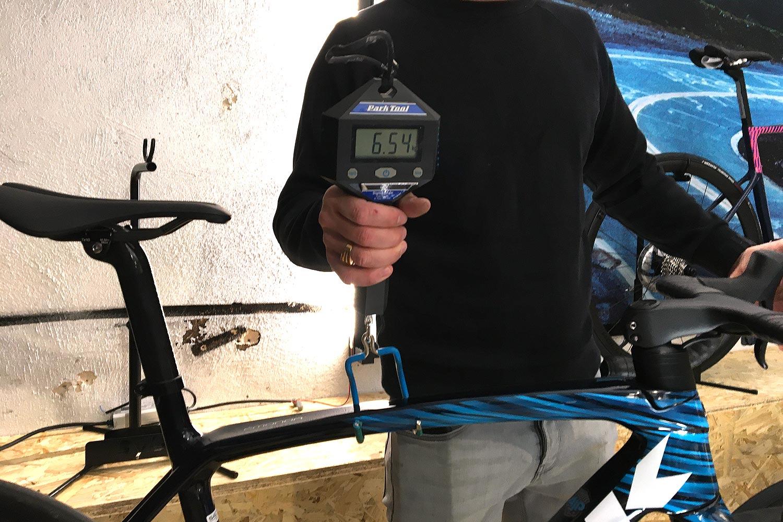 Le poids des vélos
