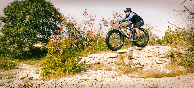 Yann Thomas Salamandre cycles Ardèche fatbike