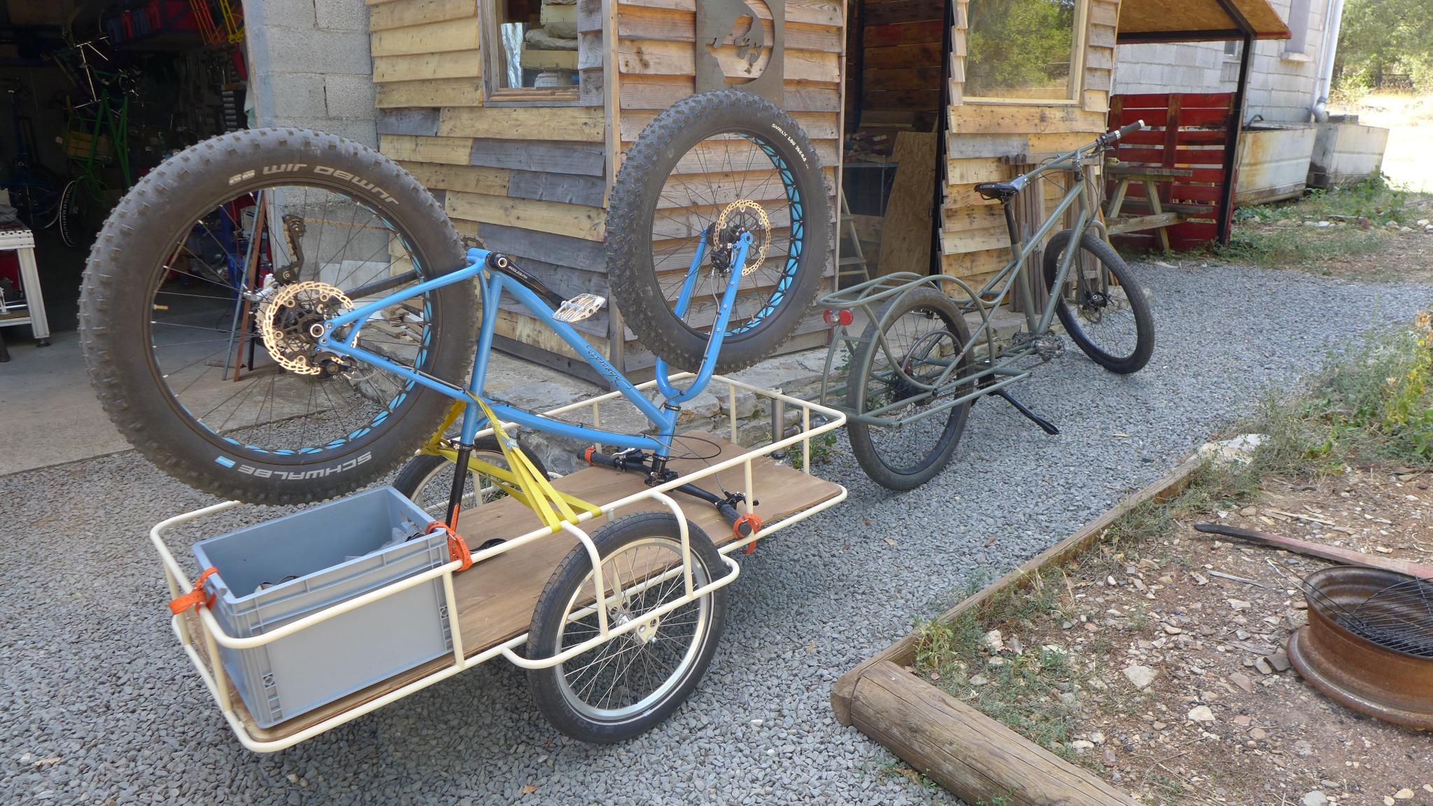 Yann Thomas Salamandre Cycles Ardèche cadreur