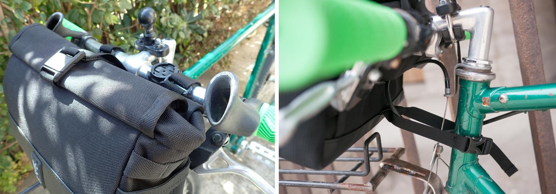 Chrome Industries Doubletrack bar bag sling