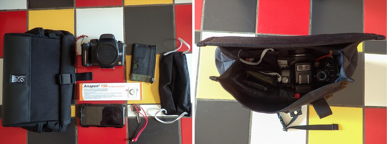 Chrome Industries Doubletrack bar sling bag
