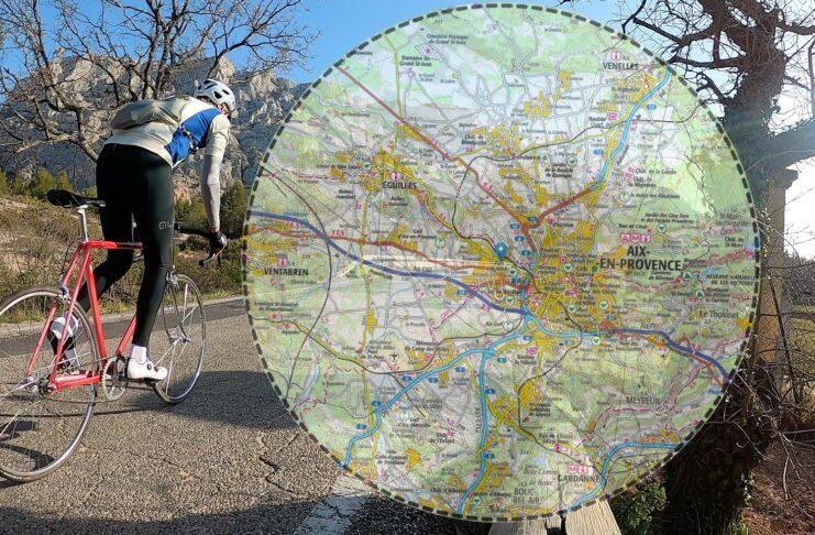 Rouler confiné dans un cercle de 10km
