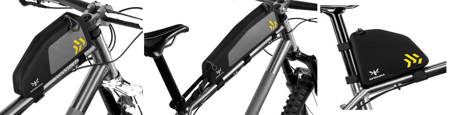 Apidura Backcountry La gamme de sacoches vélo bikepacking remise à jour