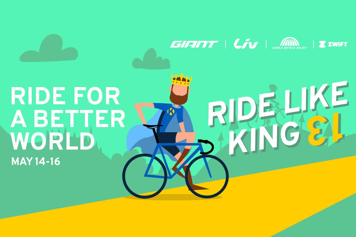 Ride like a King avec Giant