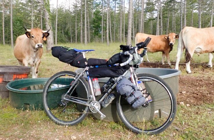 Bikepacking Gravel Adventure pannier pack cycling gravel touring