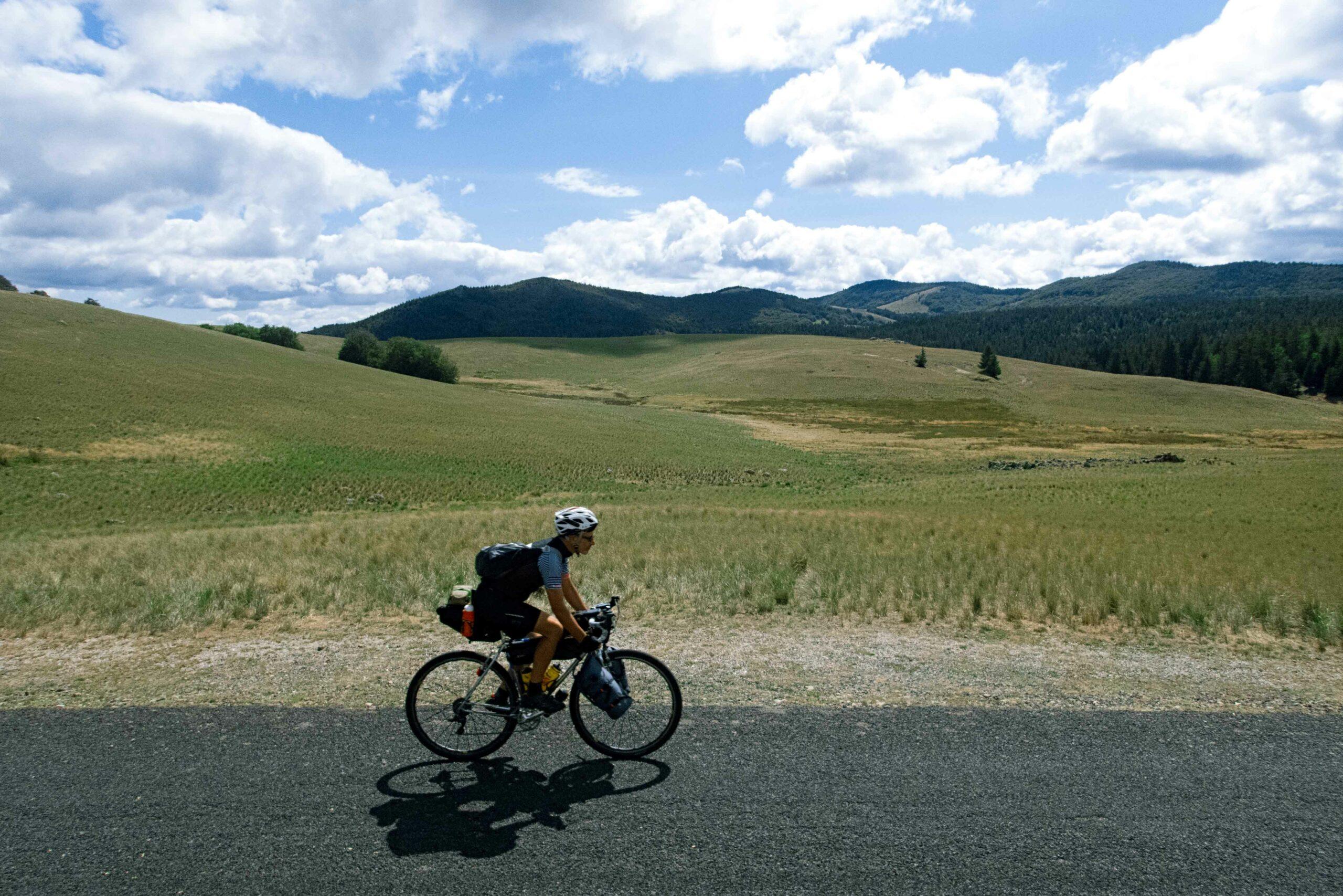 Bikepacking adventure Mont Aigoual