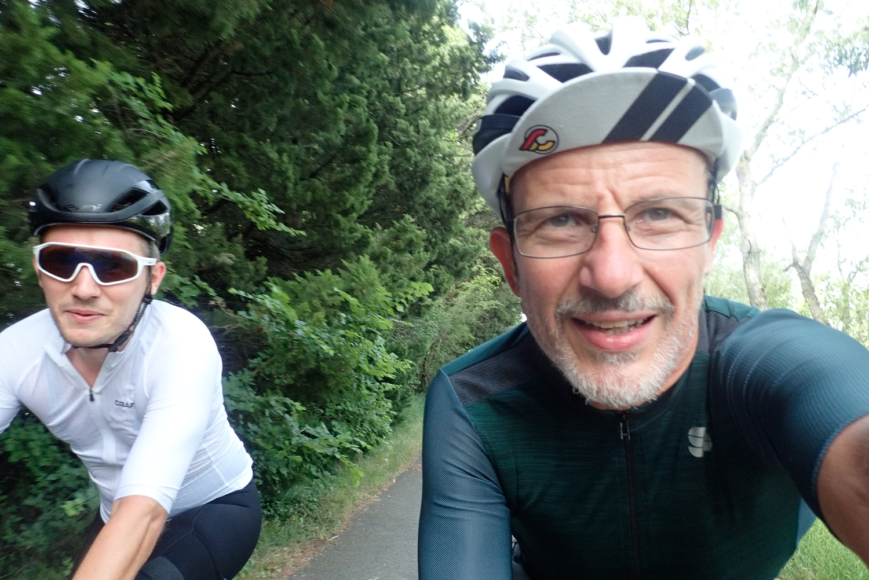 Fabien A. Simpe Dan de Rosilles gravel riders