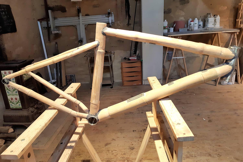 Gamory cycles, le gravel version bambou