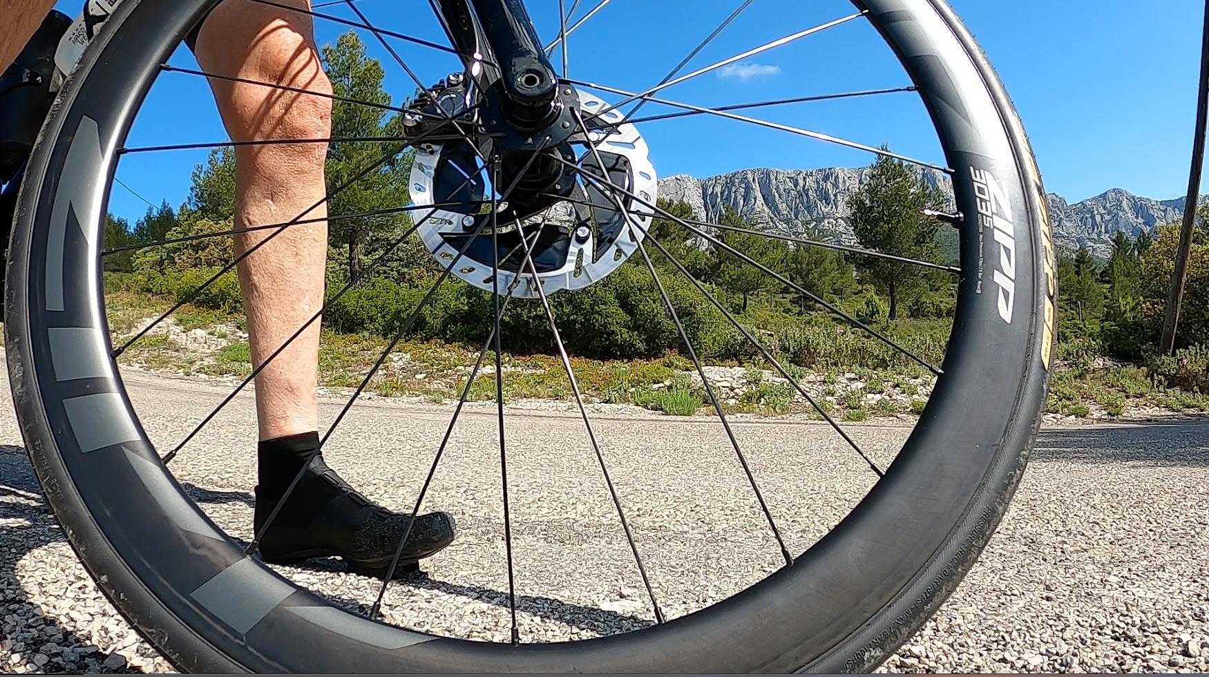 Test des roues Zipp 303s