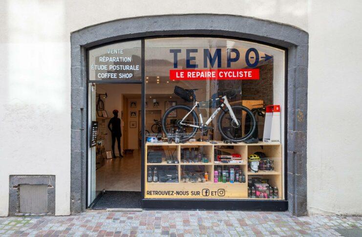 Café vélo Tempo le repaire des cyclistes