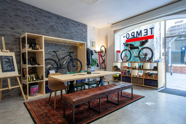 Tempo le repaire du cycliste le café vélo de Clermont Ferrand