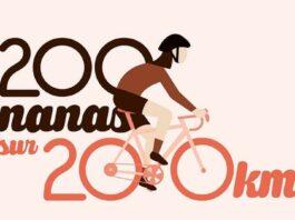200 nanas pour 200 km