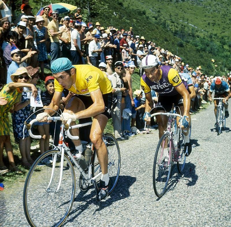 Les braquets d'Eddy Merckx