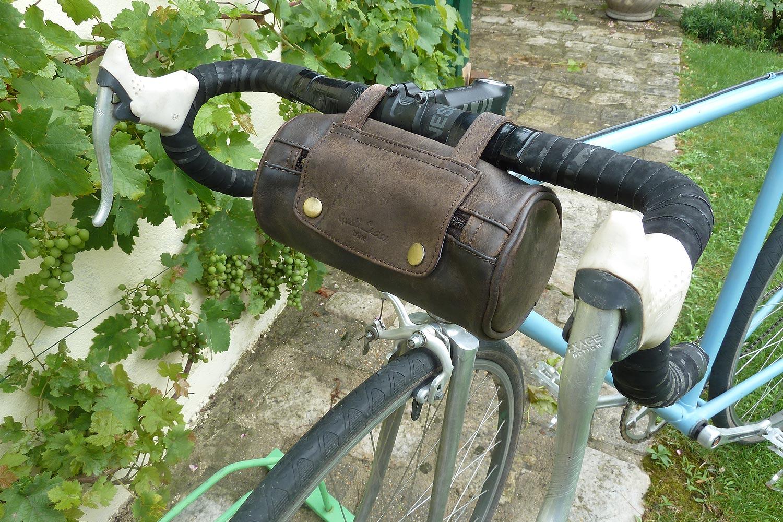 Sacoche de cintre au look vintage Gusti Leder