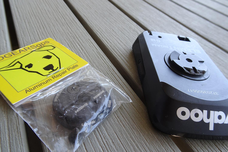 DogEars plaque de réparation pour compteurs GPS Garmin et Wahoo