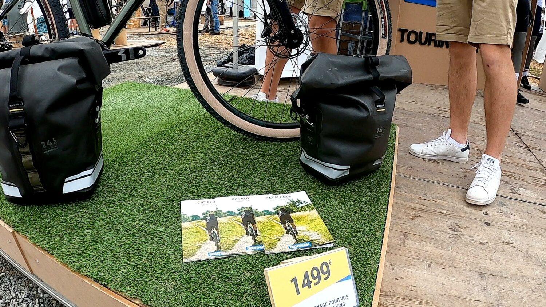 Riverside bagagerie accessibles pour le bikepacking