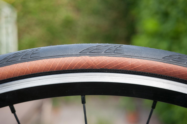 Continental Grand Prix 5000 Transparent close up road cycling tyres tires