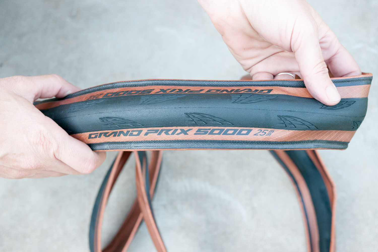Continental Grand Prix 5000 Transparent road cycling tyre tire