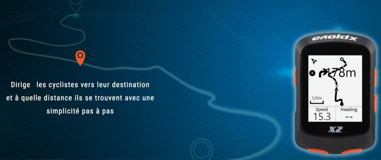 Compteur GPS Xplova X2 de Acer