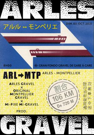 Du gravel de gare à gare : ARL > MTP 2021
