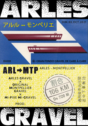 Arles - Montpellier en gravel
